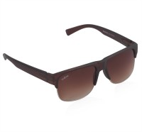 iFox iFox 090 Wayfarer Sunglasses(Brown)