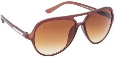 Suiss Blanc BRWNBRWNLGHT Aviator Sunglasses
