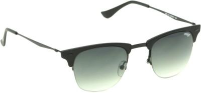 IMAGE IM-539-C3 Wayfarer Sunglasses(Black, Green)