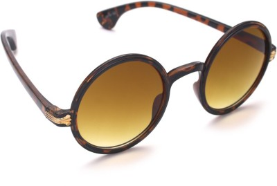6by6 SG995 Round Sunglasses(Brown)