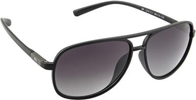 Farenheit 1315P Rectangular Sunglasses(Green)