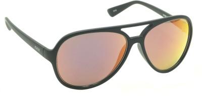 IDEE IDEE-S1939-C6 Aviator Sunglasses(Red, Multicolor)