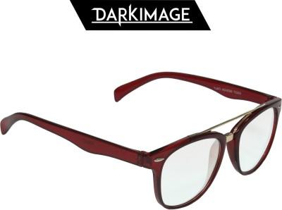 Dark Image Oval Sunglasses