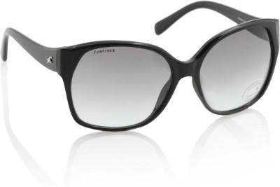 Fastrack P247GR1F Over-sized Sunglasses(Grey)