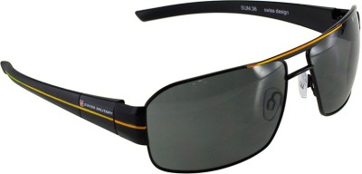 Swiss Military Wayfarer Sunglasses(Grey) at flipkart