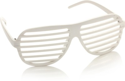 Gio Collection Model:LSKL120012-KL2049 white P12251 Aviator Sunglasses(Clear)