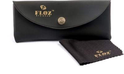 Floz Brown Clubmaster Wayfarer Sunglasses Round Sunglasses