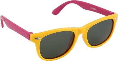 Gansta Gansta HR-1002 Yellow & Pink Kids polarized lens sunglass Wayfarer Sunglasses(For Boys)