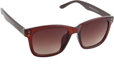 Farenheit 1122-C2 Wayfarer Sunglasses(Brown)