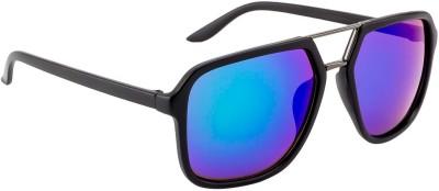 Crazy Eyez Rockstar Rectangular Sunglasses