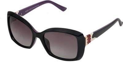 Xross X-009-C43-56 Polarized Rectangular Sunglasses