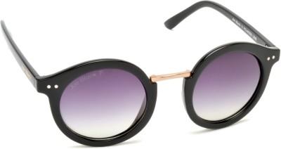 Joe Black JB-821-C1P Round Sunglasses(Violet)