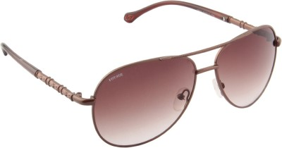 Voyage 1802MG1059 Aviator Sunglasses(Brown)