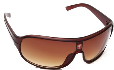 Liverpool FC Brown Wrap-around Sunglasses