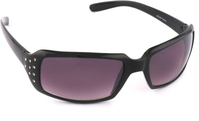 Vast vast30126violet Rectangular Sunglasses(Violet)