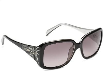 Emilio Pucci Emilio Pucci 685 065 S Over-sized Sunglasses(Grey) at flipkart