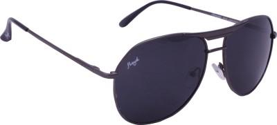 Floyd 121046_GMTL_GRAY Aviator Sunglasses(Grey)