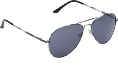 Vast Vastdd003 Aviator Sunglasses(Grey)