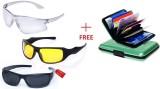 IBS AXC74 Wrap-around Sunglasses (Multic...