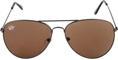 Omnesta 10brown Aviator Sunglasses