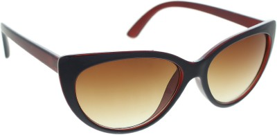 Vast jasper_cat_eye_7230_brown Cat-eye Sunglasses(Brown)