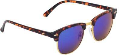 6by6 SG1470 Wayfarer Sunglasses(Blue)