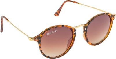 Danny Daze D-2525-C4 Oval Sunglasses