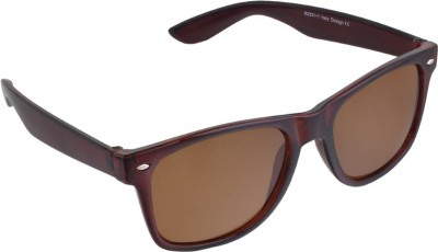 PORUS CLUB Wayfarer Sunglasses