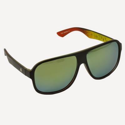 Alphaman Man of Substance and Style Aviator Sunglasses