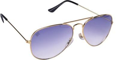 MTV MTV-123-C7 Aviator Sunglasses(Blue)