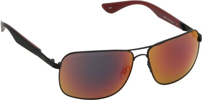 IDEE IDEE-1999-C1 Wrap-around Sunglasses(Red, Multicolor)