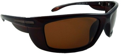 MATRIXX Polaroid Rectangular Sunglasses