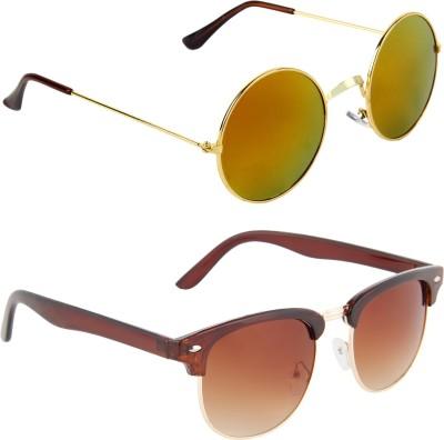 Zyaden Combo Pack Round Sunglasses