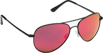 Polaroid P-4139-E-KIH-L6-58 Aviator Sunglasses(Red)