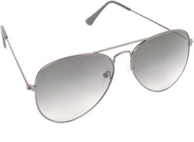 6by6 SG251 Aviator Sunglasses(Grey)