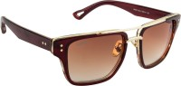 Voyage 96980MG1286 Wayfarer Sunglasses(Brown)