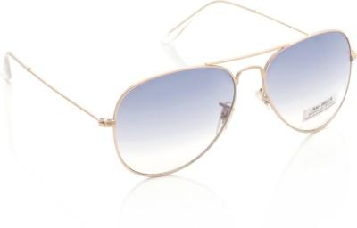 Joe Black JB-3025P-C6 Aviator Sunglasses(Blue)