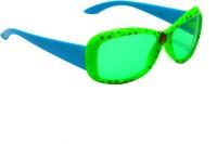 Goggy Poggy FNBABY-3001-GRN-BLU Rectangular Sunglasses(For Girls)