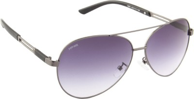 Voyage 1865MG1103 Aviator Sunglasses(Black)