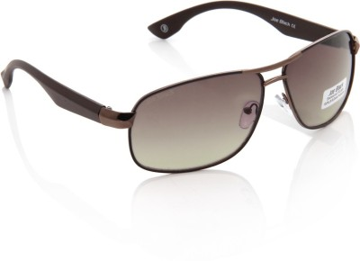 Joe Black JB-600-C3 Rectangular Sunglasses(Brown)