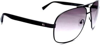 Tommy Hilfiger TH7869C2 Oval Sunglasses(Grey)
