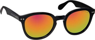 David Blake DBSG599 Round Sunglasses(Violet)