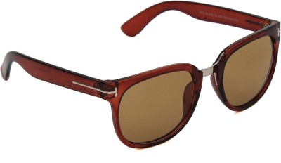 6by6 SG1152 Wayfarer Sunglasses(Brown)