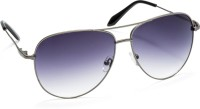 Stacle Kaiz1809 Aviator Sunglasses(Grey)