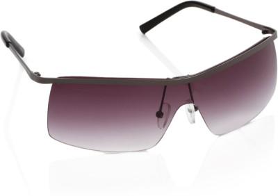Timberland TB7106-0009B Rectangular Sunglasses(Violet)