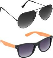 Red Leaf RCMB141_1 Aviator Wayfarer Sunglasses(For Boys)