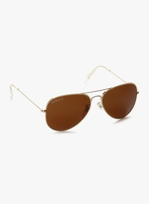 Joe Black JB-755-C2P Aviator Sunglasses(Brown)