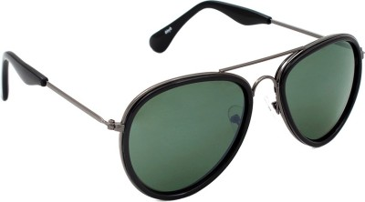 6by6 SG1633 Aviator Sunglasses(Green)
