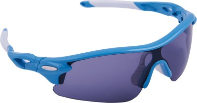 Omtex Flash Ice Blue Sports Sunglasses