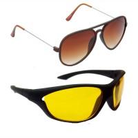 Red Leaf RCMB299_1 Aviator Sports Sunglasses(For Boys)